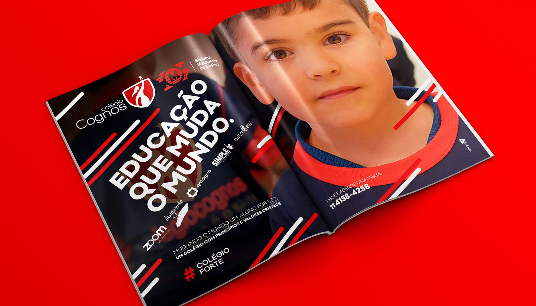 Colégio Cognos - VENONE design Agency